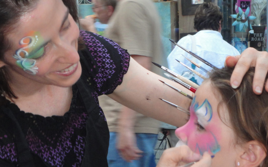 Hiring a Face Painter: How to Spot a Professional
