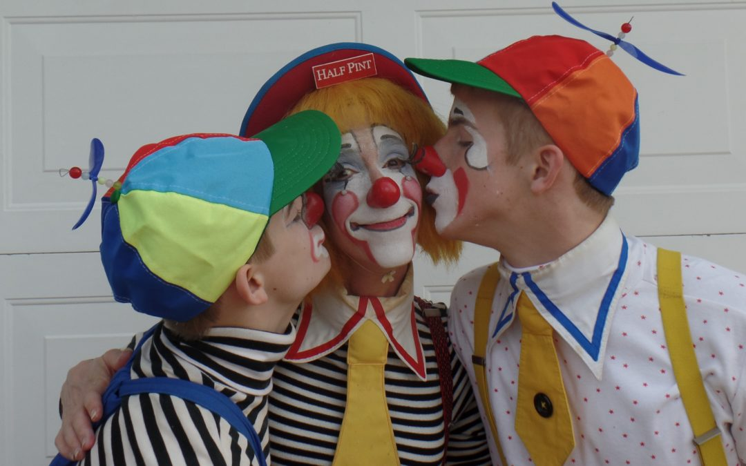 HOW TO INSTILL GRATITUDE IN YOUR KIDS? Parenting Tips from a Clown