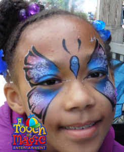 Face Painting by A Touch of Magic Entertainment