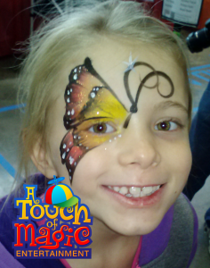 Face Painter at A Touch of Magic Entertainment