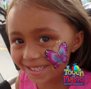 A Touch of Magic Face Painting