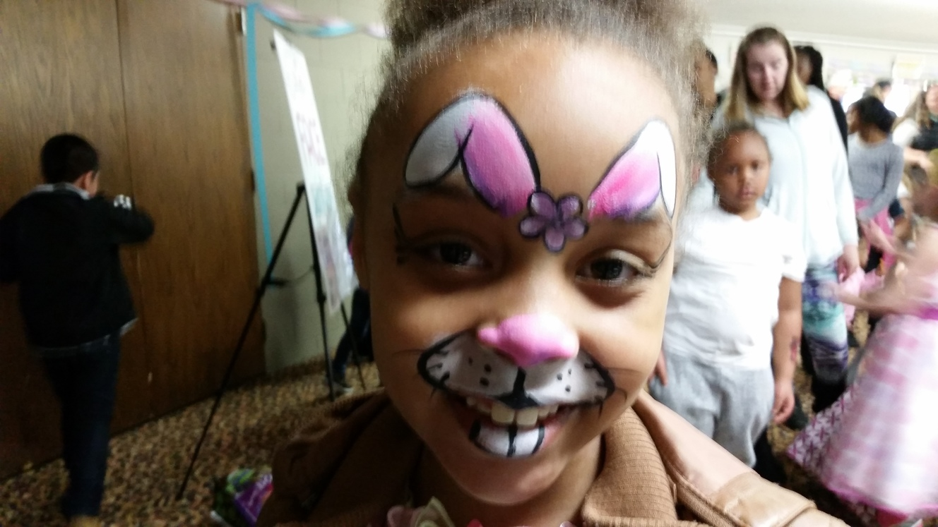 Easter Face painting