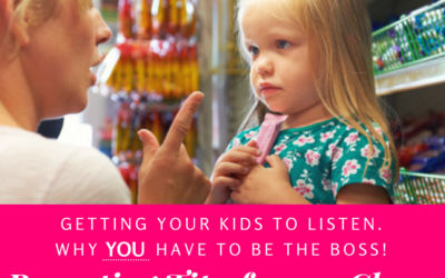 Getting your kids to listen. Why YOU Have to Be the Boss! – Parenting Tips from a Clown