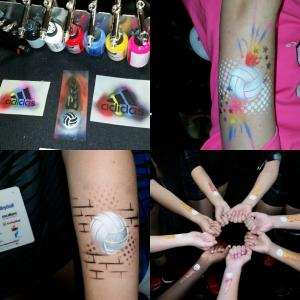 Airbrush Tattoos - A Touch of Magic Entertainment Minnesota