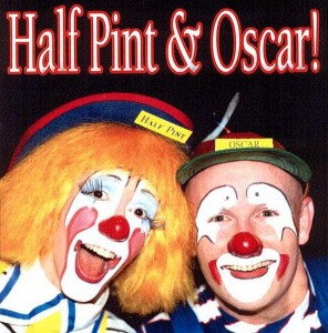 Half Pint & Oscar Clowns Minneapolis