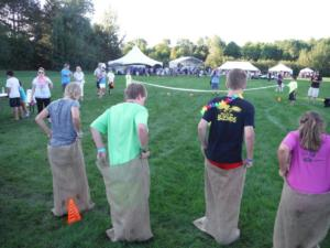 Gunny Sack races by A Touch of Magic Entertainment