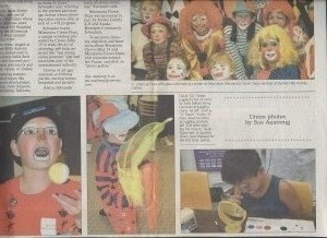 MN Clown Days Junior Joeys taught by LH in Anoka County Union Newspaper 9-29-2006 2