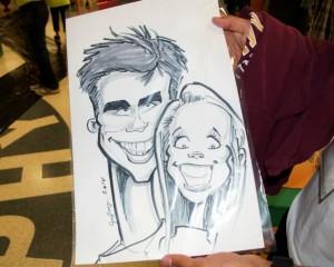 Teen Caricatures
